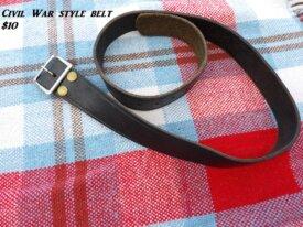 Civil War style belt