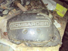 carter d'embrayage rotax bombardier