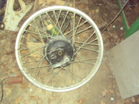 roue avant de trail , 400 dr ?