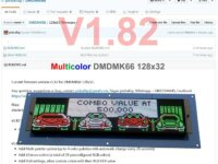 MULTICOLOR DMDMK66 128X32 5