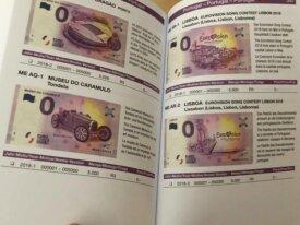catalogue des billets souvenirs 0 euros