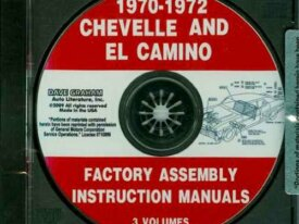 FACTORY ASSEMBLY INSTRUCTION MANUALS CHEVELLE