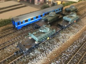 rame militaire 1/160