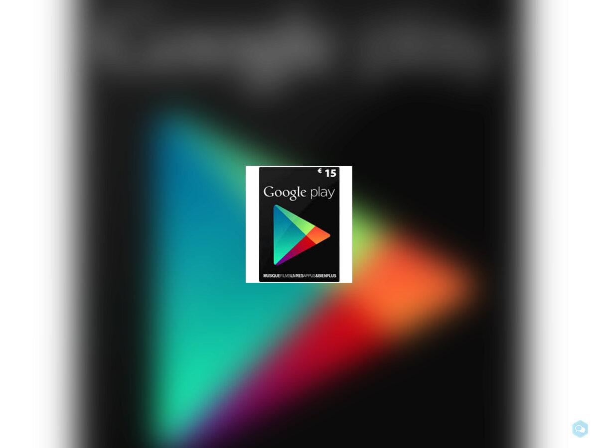 Google Play 15€ 2