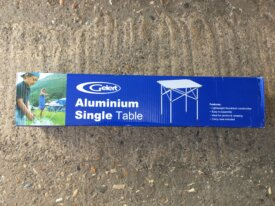 2 x Gelert Single Person Aluminium Roll-Up Table