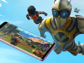 BÊTA ANDROID DE FORTNITE