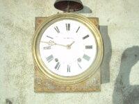 mouvement d'horloge comtoise a restaurer 1