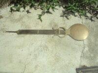 balancier lyre d'horloge comtoise 1