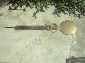 balancier lyre d'horloge comtoise