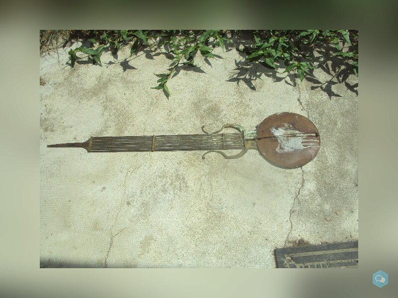 balancier lyre d'horloge comtoise 2