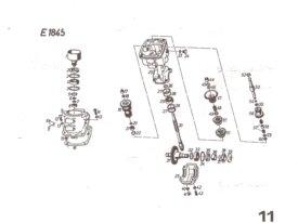 Recherche pièces pour motoculteur T45