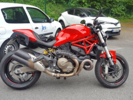 Echange ma Ducati monster 821 Vs MT09