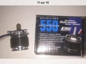 Servos spectrum + moteur