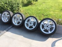 Jantes originales Porsche 18' Michelin Alpin 1