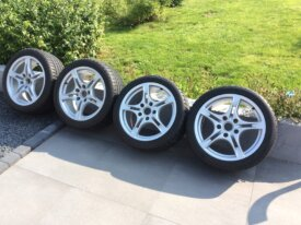 Jantes originales Porsche 18' Michelin Alpin
