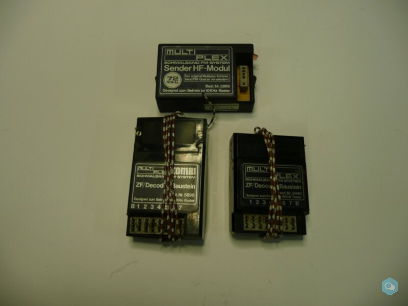 41 - PACK EMISSION MPX 72 Mhz 1
