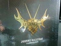 Livre d'or géant Johnny Hallyday limité à 1000 ex 2