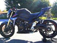 Vends GSR 750 noir mat 2