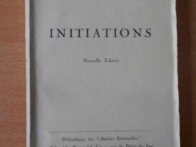 Initiations (Sédir)