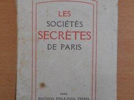 Les Sociétés Secrètes (Pierre Geyraud)