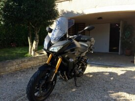 MT09 TRACER MAT GREY SEPTEMBRE 2015 12500 KM