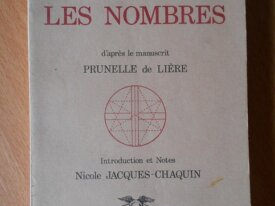 Les Nombres (Louis-Claude de Saint-Martin)