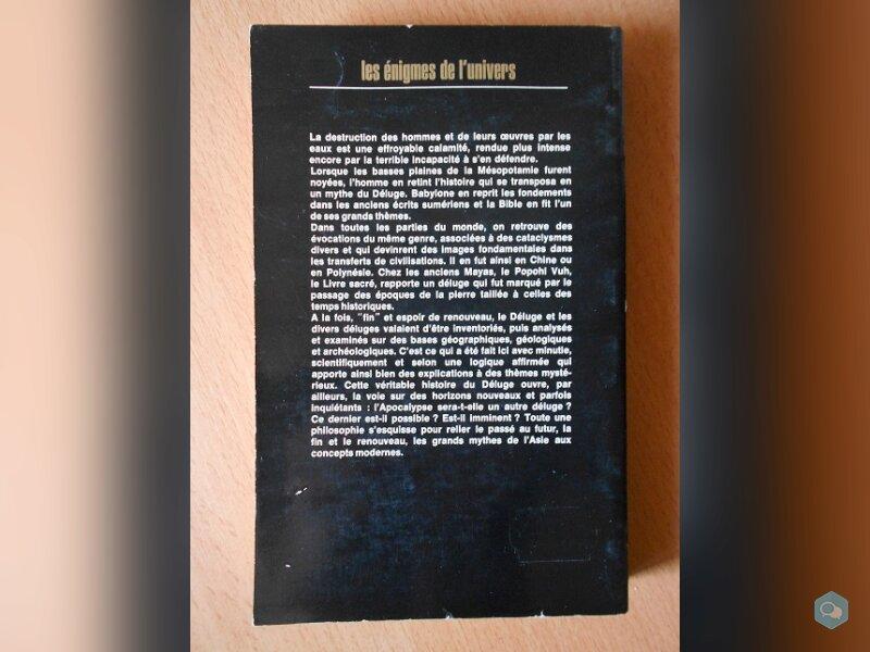 Histoire Mondiale du Déluge (M. et P. Déribéré) 2