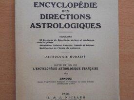 Encyclopédie des Directions Astrologiques (Janduz)
