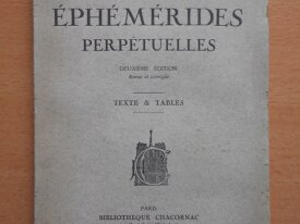 Ephémérides Perpétuelles (E. Caslant)