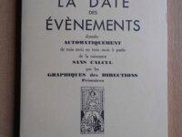 La Date des Evènements (Georges Muchery) 1