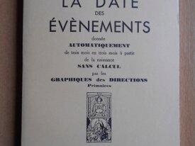 La Date des Evènements (Georges Muchery)