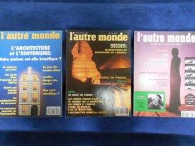 Lot : 3 Revues l'Autre Monde, N°113, 124, 131