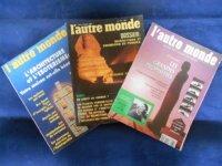 Lot : 3 Revues l'Autre Monde, N°113, 124, 131 2