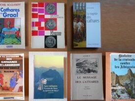 Lot : 7 livres sur les Cathares