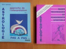 Lot : 2 Livres Astrologie Fraternité Rosicrucienne