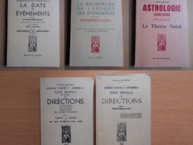 Lot : 5 livres d'Astrologie de Georges Muchery