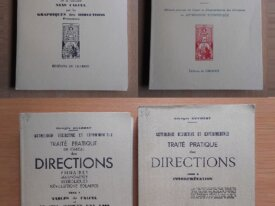 Lot : 4 livres d'Astrologie de Georges Muchery