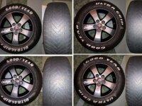 4 roues complètes hiver Dodge Journey 1