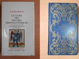 Lot : 2 livres sur Nicolas Flamel