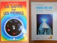 Lot : La Santé par les Pierres et Cristal de Vie 1