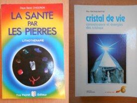 Lot : La Santé par les Pierres et Cristal de Vie