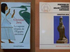 Lot : 2 livres de Christian Jacq