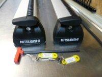 Barres de toit Mitsubishi Outlander III 2