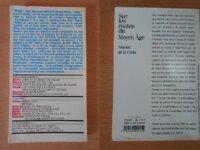 Lot : 2 livres sur le Moyen Age 2