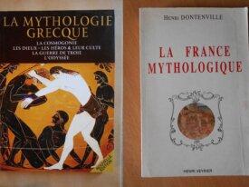 Lot : 2 livres sur la Mythologie
