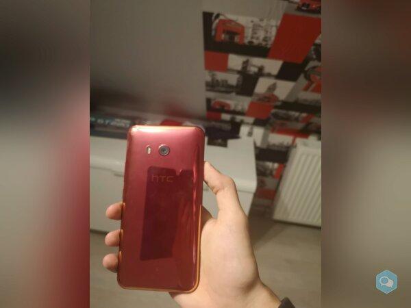 HTC U11 128 Go Rouge + facture et pack d'accessoir - img