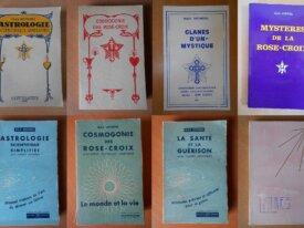 Lot : 8 livres de Max Heindel