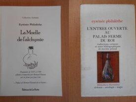 Lot : 2 livres de Eyrénée Philalèthe