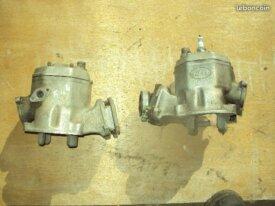 deux hauts moteurs de 250 ktm 544