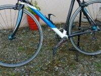 vente vélo Salmon carbone/alu 1